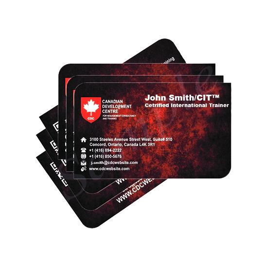Cdcs Business Cards 500 Cards Canadian Development Centre Cdc